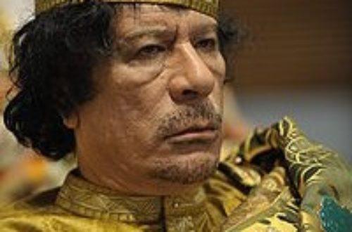 Article : <strong>Libye/KADHAFI: Du Guide à la Guillotine</strong>