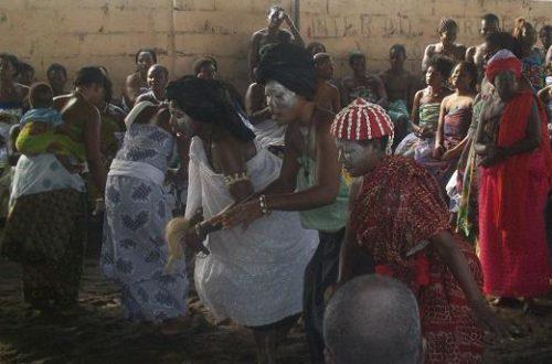Article : <strong>Les adeptes de la divinité « Mama Tchamba » en fête</strong>