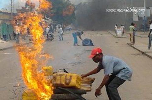 Article : <strong>Journée de contestation au Togo : les images des échauffourées</strong>