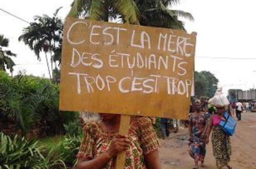 Article : <strong>Grande mobilisation autour des étudiants à Lomé : les images</strong>