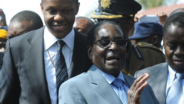 Le président sortant du Zimbabwe, Robert Mugabe  Photo :  AFP/ALEXANDER JOE