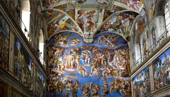 Chapelle Sixtine ( Michel-Ange)